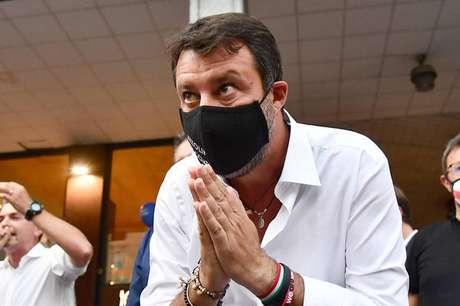 Matteo Salvini promoveu intensa agenda de comícios para eleições regionais