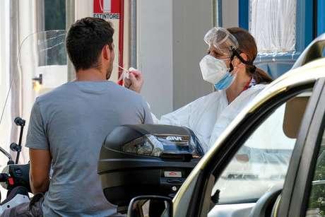 Quantidade de casos na Itália vem subindo há sete semanas consecutivas