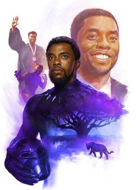 Marvel homenageia Chadwick Boseman em seus quadrinhos