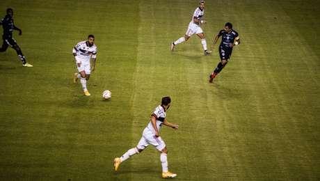 O Flamengo de Gabigo foi humilhado pelo Independiente Del Vale