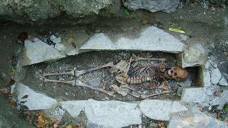 Foram realizadas análises genéticas em mais de 400 esqueletos Viking