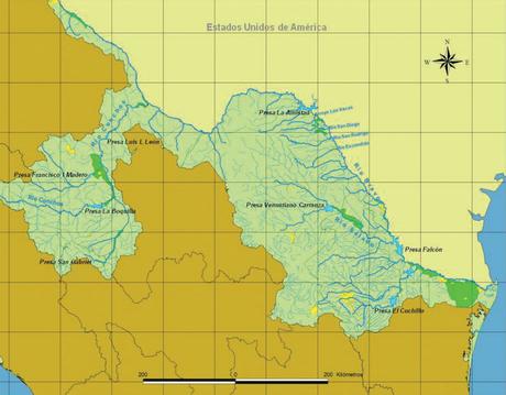 Rio Conchos é maior dos seis afluentes do Rio Bravo que devem fornecer água ao México para o cumprimento do tratado