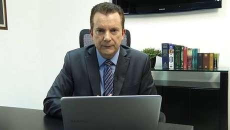 No vídeo republicado pelo presidente, Celso Russomanno defende atuação do Ministério da Justiça e responde deputado Kim Kataguiri (DEM-SP).