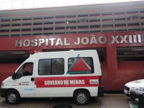 Fachada do Hospital João XXIII, em Belo Horizonte.