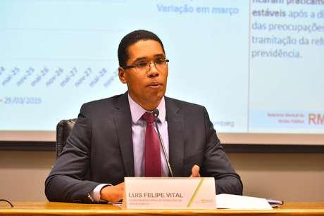 Coordenador-geral de Operações da Dívida Pública, Luis Felipe Vital