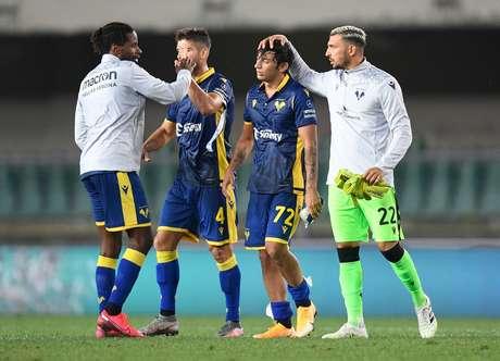 Roma empata com Hellas Verona na abertura do Campeonato Italiano