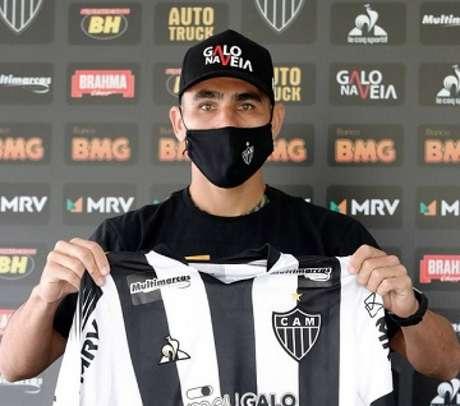Junior Alonso está na lista da seleção paraguaia e pode ficar de fora de jogos do Brasileiro-(Bruno Cantini/Atlético-MG)