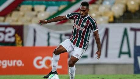 Luccas Claro foi o último a acertar a situação contratual no Fluminense (Foto: LUCAS MERÇON / FLUMINENSE F.C.)