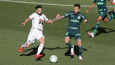 Lucas Lima participou dos últimos 5 jogos do Palmeiras, dois últimos como titular (Foto: César Greco/ Ag. Palmeiras)