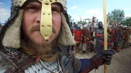 Segundo imaginário popular, vikings são geralmente loiros, altos e de olhos azuis