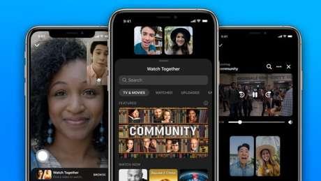 Watch Together no Facebook Messenger