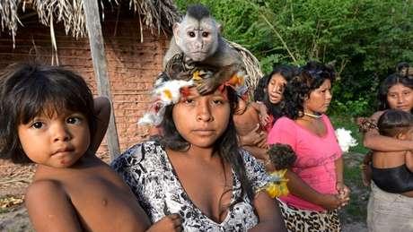 Populações indígenas isoladas são particularmente vulneráveis a doenças como um simples resfriado