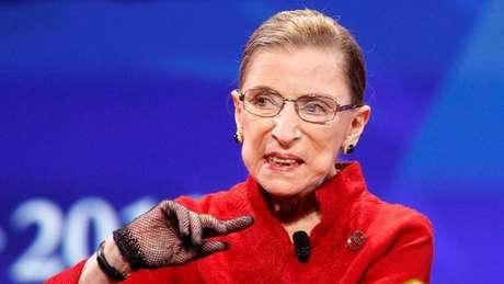 Ruth Bader Ginsburg morreu aos 87 anos de câncer no pâncreas