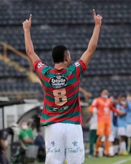 Guilherme Nunes, emprestado pelo Santos à Portuguesa (Foto: Reprodução/Instagram)