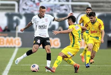 Luan tem seis gols neste ano com a camisa do Corinthians (Foto: Rodrigo Coca/Agência Corinthians)