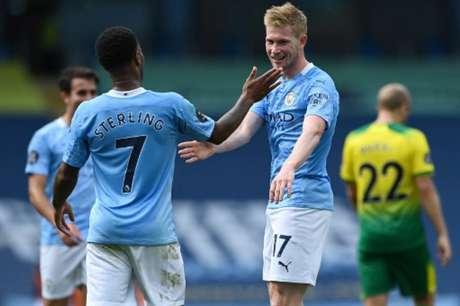 City mantém a base da última temporada e busca boa estreia (SHAUN BOTTERILL / POOL / AFP)