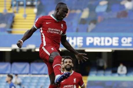 Mané fez dois gols em 10 minutos (MATT DUNHAM / POOL / AFP)