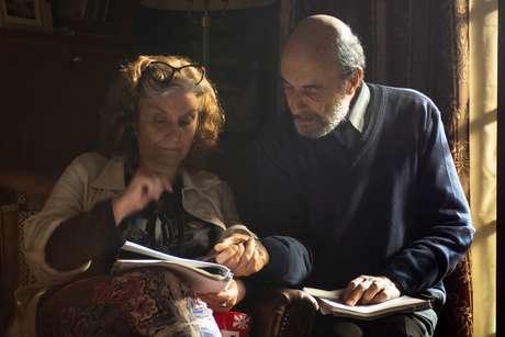 Ana Luiza Azevedo com Jorge Bolani