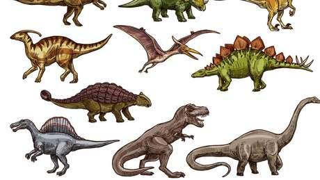 Os dinossauros foram extintos há 66 milhões de anos