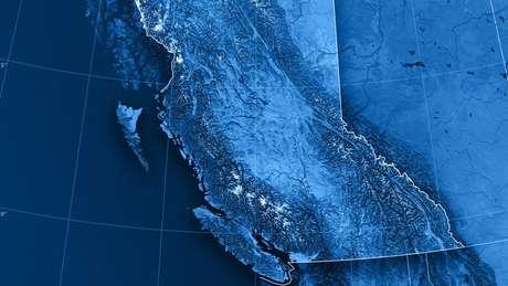 Wrangellia é uma placa tectônica na costa oeste do continente norte-americano