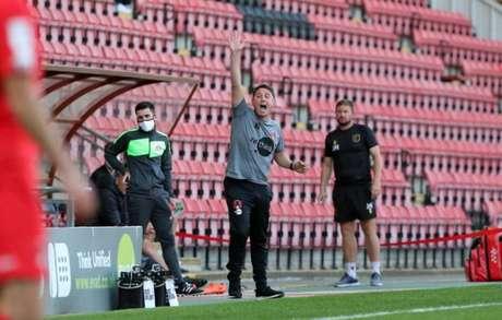 Ross Embleton, técnico do Leyton Orient
