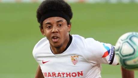 Jules Koundé é um dos principais destaques do Sevilla na temporada (Cristina Quicler / AFP)