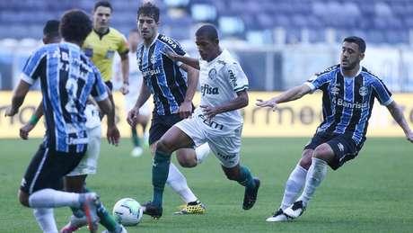 Danilo fez sua estreia como titular do Palmeiras na partida contra o Grêmio (Foto: Cesar Greco/Palmeiras)