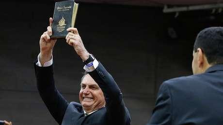 Presidente Jair Bolsonaro fez aceno à base eleitoral evangélica durante fala na ONU