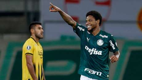 Palmeiras e Guaraní se enfrentam nesta quarta-feira (23), em Assunção (MIGUEL SCHINCARIOL/AFP)