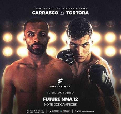 Marcado para outubro, card do Future MMA 12 sofreu alteração na luta principal (Foto: Divulgação/Future MMA)