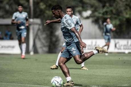 Lucas Sena deve ser titular na estreia do Santos pelo Brasileirão Sub-20 (Foto: Ivan Storti/Santos)