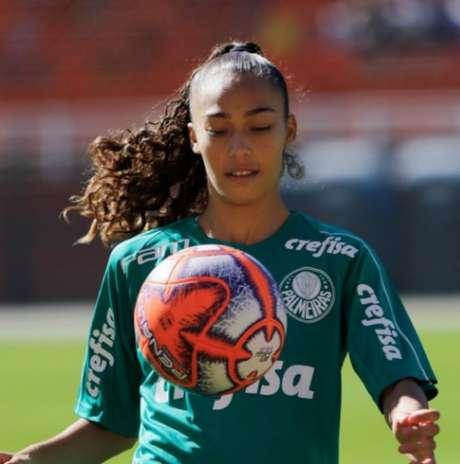 Juliana Passari se machucou em jogo do Brasileirão feminino (Foto: Divulgação/Instagram)