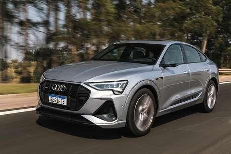 Audi Etron-Sportback: assinatura por menos de R$ 12 mil mensais.