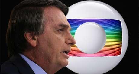 Bolsonaro critica o tom realista dos telejornais da Globo na cobertura das mortes por covid-19 e o distanciamento social propagado pela emissora