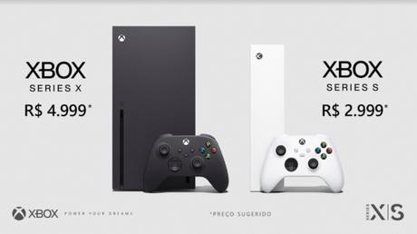 Microsoft confirma preços do Xbox Series X e S no Brasil: a partir de R$ 2999 / Divulgação / Microsoft