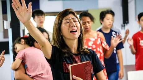Igreja cristã Sola Japan, que se dedica à evangelização de imigrantes e dekasseguis