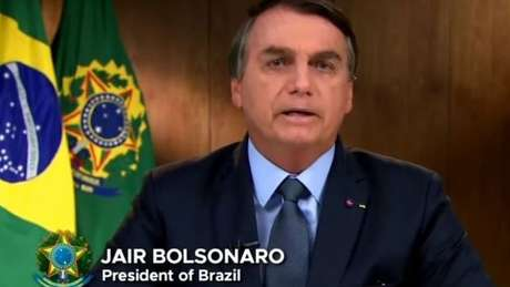 Bolsonaro fez o discurso de abertura da Assembleia Geral da ONU