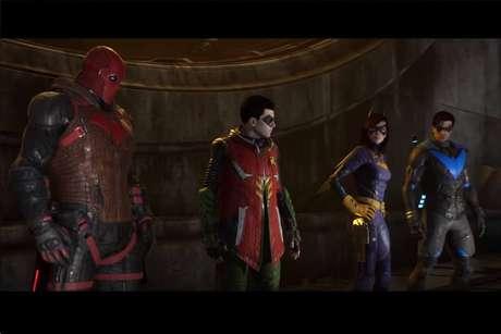 Em Gotahm Knights, o Batman está morto e o jogador deve controlar um dos personagens da família Batman para continuar o legado do cavaleiro das trevas.