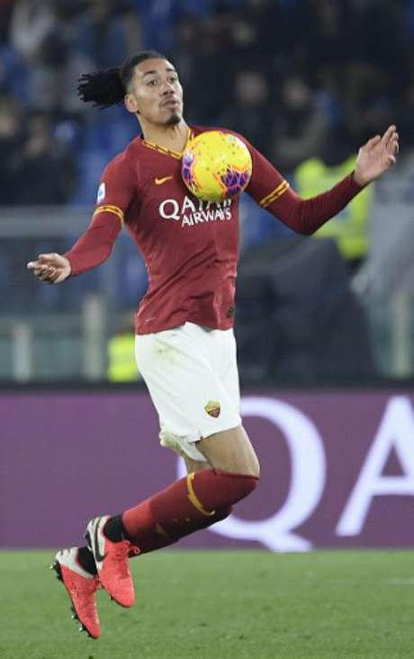Smalling agradou em empréstimo na última temporada e quer voltar para a Roma (Foto: Filippo MONTEFORTE / AFP)
