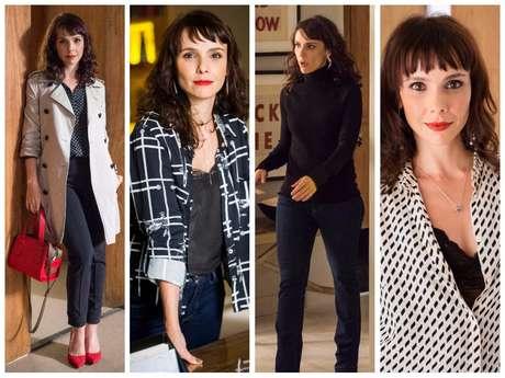 Looks da personagem Irene (Fotos: Estevam Avellar/João Miguel Júnior/Tata Barreto/TV Globo/Divulgação)