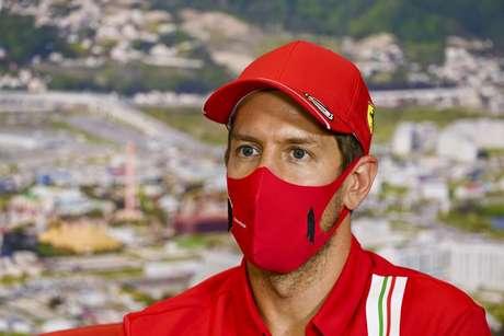 Sebastian Vettel colocou Schumacher como herói