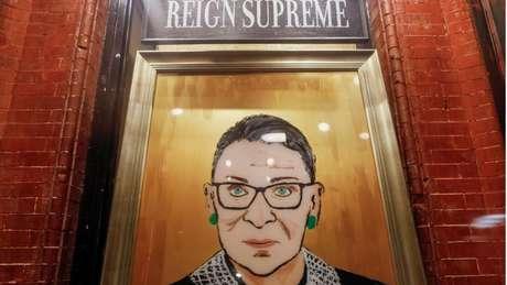 Ginsburg fazia parte de um bloco de quatro juízes progressistas
