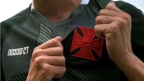 Nova camisa do Vasco