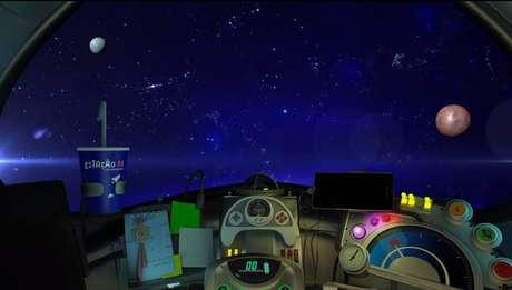 A plataforma 'Estação N' simula uma viagem espacial para apresentar experimentos científicos para crianças