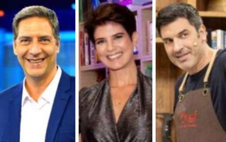 Luís Ernesto Lacombe, Mariana Godoy e Edu Guedes mudaram de emissora em 2020