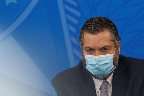 Ministro das Relações Exteriores, Ernesto Araújo  09/07/2020 REUTERS/Adriano Machado