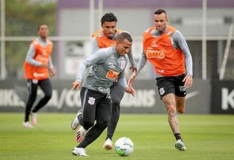 Corinthians volta aos treinamentos nesta sexta-feira no CT Joaquim Grava (Foto: Rodrigo Coca/Ag. Corinthians)
