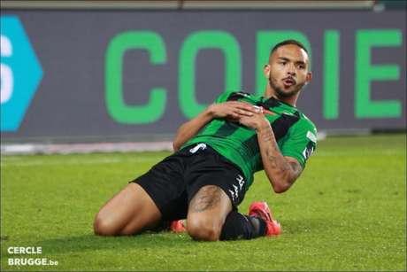 Vitinho precisou de apenas sete minutos em campo para marcar um gol na Bélgica (Cercle Brugge)