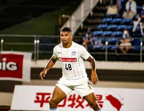 Halef não jogou pela Raposa e teve de reconstruir sua carreira no futebol japonês-(Divulgação/Arquivo pessoal)