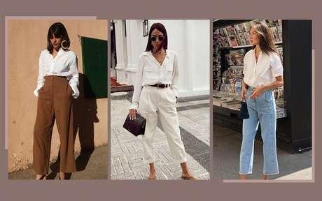 Como usar camisa branca: aprenda a montar looks para todas as ocasiões